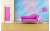 Fotobehang Vlies | Klassiek | Roze, Blauw | 254x184cm