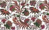 Fotobehang Vlies | Bloemen | Wit, Groen | 254x184cm