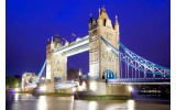 Fotobehang Vlies | London | Blauw | 254x184cm