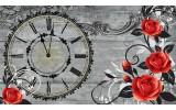 Fotobehang Vlies | Rozen, Bloemen | Rood | 254x184cm