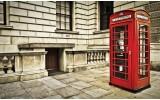 Fotobehang Vlies   Engeland   Rood   254x184cm