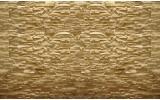 Fotobehang Vlies   Stenen, Muur   Geel   254x184cm