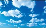 Fotobehang Vlies   Lucht, Zon   Blauw   254x184cm