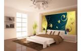 Fotobehang Vlies | Klassiek, Slaapkamer | Geel | 254x184cm