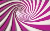 Fotobehang Vlies | Design | Roze, Paars | 254x184cm