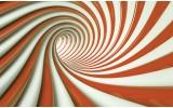Fotobehang Vlies | Design, Slaapkamer | Oranje | 254x184cm