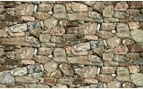 Fotobehang Vlies   Stenen, Muur   Grijs   254x184cm