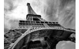 Fotobehang Vlies | Eiffeltoren, Parijs | Grijs | 254x184cm