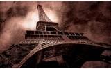 Fotobehang Vlies | Eiffeltoren, Parijs | Bruin | 254x184cm