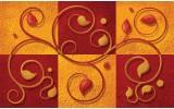 Fotobehang Vlies | Modern | Oranje, Rood | 254x184cm