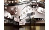 Fotobehang Vlies   Modern, Design   Zilver   254x184cm