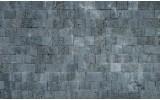 Fotobehang Vlies | Muur, Stenen | Grijs | 254x184cm
