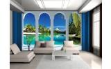 Fotobehang Vlies | Natuur, Water | Blauw | 254x184cm