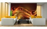 Fotobehang Vlies | Design | Bruin, Oranje | 254x184cm