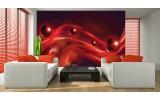 Fotobehang Vlies | Design | Rood, Zwart | 254x184cm