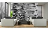 Fotobehang Vlies | Design | Zilver | 254x184cm