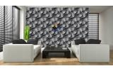 Fotobehang Vlies | Design | Grijs | 254x184cm