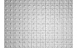 Fotobehang Vlies | Modern | Zilver, Grijs | 254x184cm