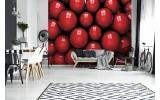 Fotobehang Vlies | Modern | Rood, Zwart | 254x184cm