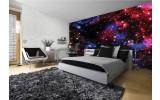 Fotobehang Vlies | Nacht, Sterren | Blauw | 254x184cm