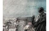 Fotobehang Vlies   Nicolaas Copernicus   Grijs   254x184cm