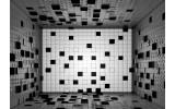 Fotobehang Vlies   3D   Grijs, Zwart   254x184cm