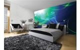 Fotobehang Vlies | Design | Groen, Blauw | 254x184cm
