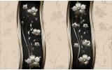 Fotobehang Vlies | Bloemen, Klassiek | Crème | 254x184cm