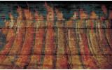 Fotobehang Vlies | Industrieel | Oranje | 254x184cm