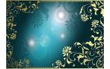 Fotobehang Vlies | Klassiek | Turquoise | 254x184cm