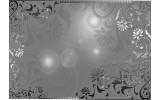 Fotobehang Vlies | Klassiek | Zilver, Grijs | 254x184cm