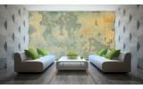 Fotobehang Vlies | Industrieel, Muur | Geel | 254x184cm