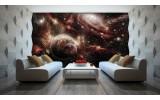 Fotobehang Vlies | Planeten | Rood, Bruin | 254x184cm