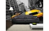 Fotobehang Vlies | New York | Geel | 254x184cm
