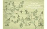Fotobehang Vlies   Landelijk   Groen, Grijs   254x184cm
