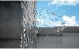 Fotobehang Vlies | Design, Abstract | Grijs | 254x184cm