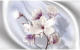 Fotobehang Vlies | Bloemen, Magnolia | Paars | 254x184cm