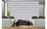 Fotobehang Vlies | 3D, Design | Wit | 254x184cm