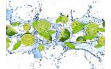 Fotobehang Vlies | Keuken, Fruit | Groen | 254x184cm
