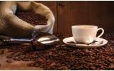 Fotobehang Vlies | Koffie, Keuken | Bruin | 254x184cm