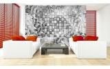 Fotobehang Vlies | Modern | Grijs, Zilver | 254x184cm