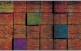 Fotobehang Vlies | Hout, Landelijk | Bruin | 254x184cm