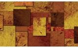 Fotobehang Vlies | Modern | Bruin, Oranje | 254x184cm