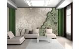 Fotobehang Vlies | Modern | Groen, Grijs | 254x184cm