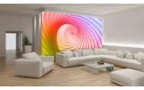 Fotobehang Vlies | Abstract | Roze, Paars | 254x184cm