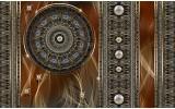 Fotobehang Vlies | Klassiek | Bruin, Grijs | 254x184cm