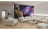 Fotobehang Vlies | Universum | Blauw, Paars | 254x184cm