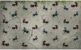 Fotobehang Vlies   Paarden   Grijs   254x184cm