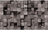 Fotobehang Vlies | Hout | Grijs | 254x184cm
