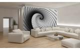 Fotobehang Vlies   Design, 3D   Grijs   254x184cm